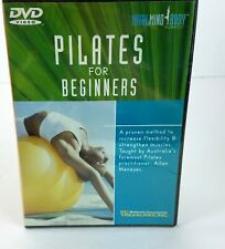 PILATES FOR BEGINNERS Total Mind Body Workout DVD Brand New & Sealed