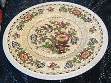 George Jones & Sons Crescent Vintage Indian Tree plate approx 9ins wide