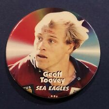 1997 Fattys Turn It Up NRL Tazo #17 Geoff Toovey Manly Sea Eagles