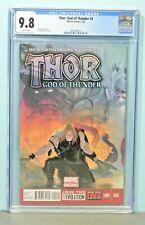 2013 Marvel Comics Thor God Of Thunder 2 Gorr God Butcher CGC Graded 9.8 Hot Key