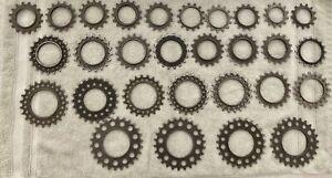 Vintage Freewheel Cogs 13-26 Regina (29 Cogs Total)