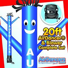 Blue Auto Sale Air Dancer ® & Blower 20ft Dancing Inflatable Sky Dancer Set