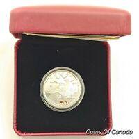 2016 Canada $1 Fine Silver Dollar Lucky Loonie Coin w/ Box + COA #coinsofcanada