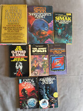 Vintage Classic Science Fiction Books Lot Of 8 Books