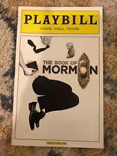 Book of Mormon Playbill OBC Nov 2011 Josh Gad Andrew Rannells?