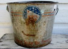 1950's NORTH STAR 10 LB. GREASE PAIL NORTH STAR OIL LIMITED
