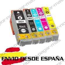 5 CARTUCHOS DE TINTA COMPATIBLE NON OEM PARA EPSON XP 720 %7c T2621 T2631/2/3/4