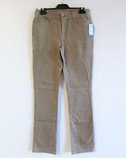 Sportscraft Sz 8 Taupe Twill Cotton Thea Summer Jeans Pants Straight NWT $139.95