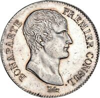 Bonaparte premier Consul 5 Francs AN XI Paris Superbe exemplaire