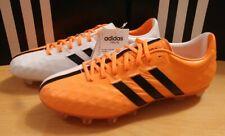 Adidas 11 PRO FG Adipure Gr.42 UK8 Fußball Herren weiß orange Leder Neu OVP