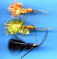 DEADLY Big Nasty Nymphs Fly Fishing Flies - Select Quantity, Color and Hook Size