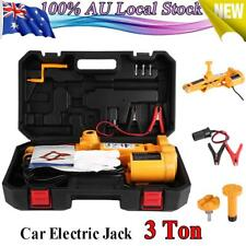 Electric Scissor 12V Car Jack Floor Lift 3 Ton SUV Van Truck 4WD with Controller