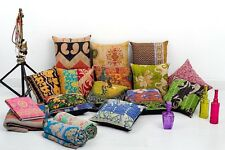 10pc vintage kantha pillows patchwork cushions indian kantha outdoor pillows