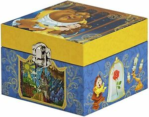 DISNEY BEAUTY AND THE BEAST MUSICAL BOX BRAND NEW