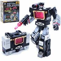 Hot Soldiers Transformers Masterpiece MP-13 Soundwave Action Figure KO version