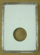 BCW - COIN DISPLAY SLABS + INSERTS - BOX OF 25 FOR NICKEL    #BCW-SLAB05