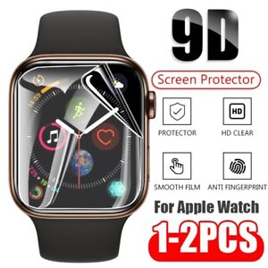 iWatch Hydrogel Soft Screen Protector Film For Apple Watch 6 5 4 3 2 1 SE Series