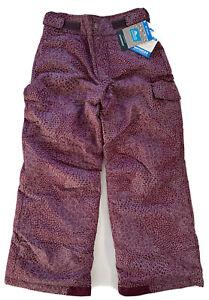 Columbia Girls Starchaser Peak II Snow Pants SG8381 Plum Gray Print Youth S M L