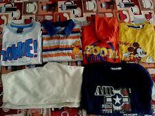 Lotto 291 stock 6 pezzi abbigliamento bimbo bambino 3/4 anni