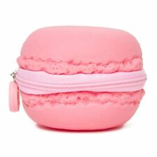 New SCENTED MACARON French Dessert COIN BAG Pouch Purse PYLONES Pink Strawberry