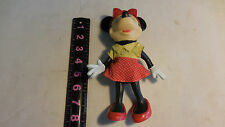 Vintage Walt Disney's Minnie Mouse Character Poseable Doll