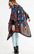NEW Free People Essential Kimono Top One Size XS S M L XL Blue