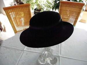 Hut, Damenhut,schwarz, Größe 57.