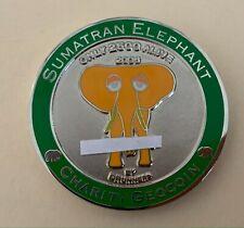 2006 Sumatran Elephant Geocoin