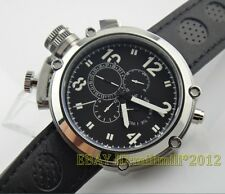 Parnis 50mm Big Face left-handed Automatic Men's watch