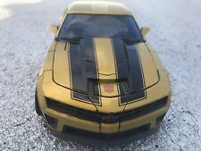 Transformers Costco Exclusive Battle Ops Bumblebee Gold Version damaged