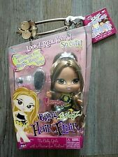 BNIB Collectable Bratz Babyz Hair Flair YASMIN Doll Real Hair! With Accessories