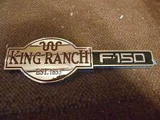 2004 2005 2006 2007 2008 FORD F150 F-150 KING RANCH FRONT FENDER TAILGATE EMBLEM