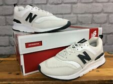 NEW BALANCE LADIES UK 6 EU 39 997H WHITE BEIGE SUEDE TRAINERS MESH RRP £75 J
