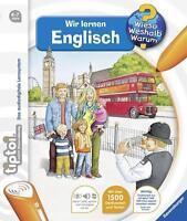 Tiptoi® Wir lernen Englisch von Inka Friese (2016, Ringbuch)