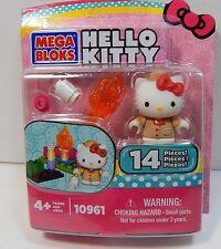 Mega Bloks Hello Kitty 10961 Campfire 14 Pieces Includes Figure New