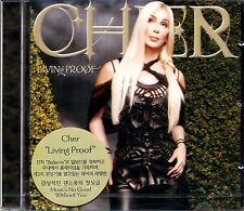 Cher - Living Proof (CD , WARNER 2001 - Korea) Brand New Sealed