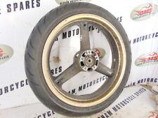 Suzuki gsxf 750 2000 front wheel and tyre sgf1