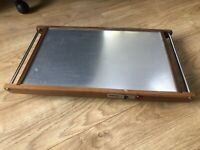 Vintage Retro Tray - upcycled 1970's Pifco heated tray - for drinks/ serving