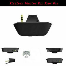 Black Wireless Headphone Headset Audio Game Adapter For Xbox One Controller Kit