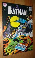 BATMAN #204  9.0/9.2  WHITE PAGES