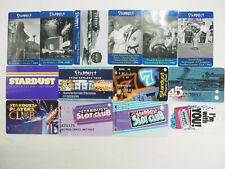 Stardust Hotel & Casino Las Vegas Room and Players Club Cards 14 Types You Pick