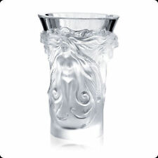 Lalique Art Glass Vases