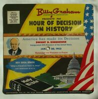 Billy Graham America Has Made Its Decision Dwight Eisenhower 78 RPM Hour of 1953