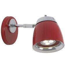 Diseñador Lámpara de pared Neo LK Nordlux rojo LED Aplique 180297 blanco cálido