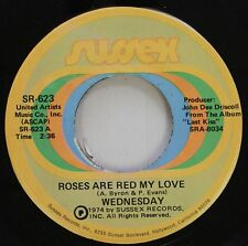 Soul 45 Wednesday - Roses Are Red My Love / Ride On Sussex