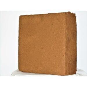 Coco Coir Block 11 lb Coconut Soil Enhancer Amendment Organic Mulch Peat Aerator
