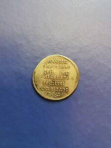 1706 German States SAXE-MEININGEN 2 Groschen Silver Coin Bernhard I