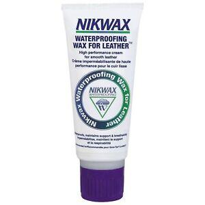 Nikwax Waterproofing Wax for Leather 100ml Hiking Motorcycle Cream Goretex Boots