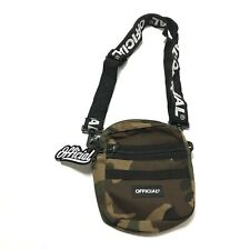 Official Crossbody Pack Camo Bag Men Adjustable Camouflage Outdoor One Size