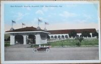 San Fernando, CA 1922 Postcard: Mission & Car - California Cal